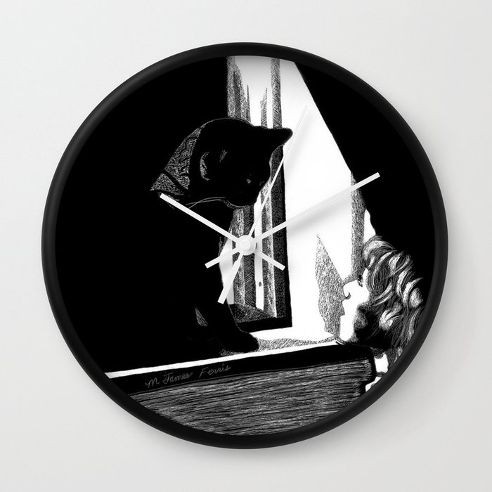Two Curious Wall Clock