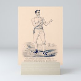 Tom Sayers - Champion of England - Bare Knuckle Prize Fighter - 1860 Mini Art Print