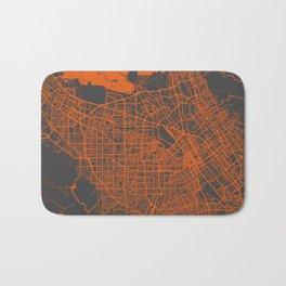 San Jose map Bath Mat