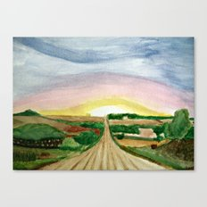 In the Fields... Canvas Print