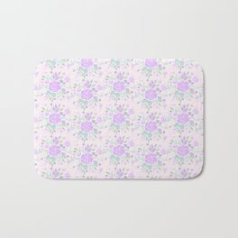 Sweet Rose Lavender Bath Mat