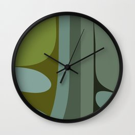 Abstraction VII Wall Clock