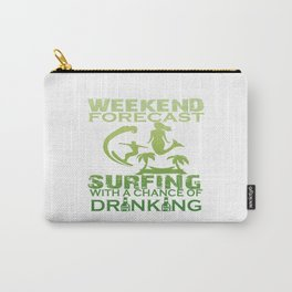 WEEKEND FORECAST SURFING Carry-All Pouch