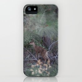 CUTE LIL DEER iPhone Case