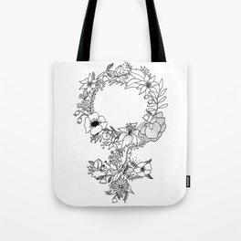 Feminist Flower  2.0 Tote Bag