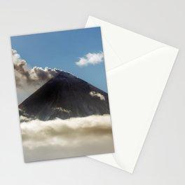 Explosive-effusive eruption of Klyuchevskoy Volcano on Kamchatka Peninsula Stationery Cards