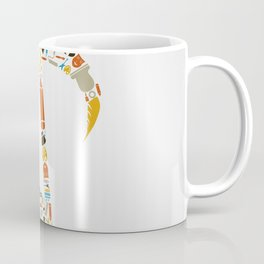Art the note Coffee Mug