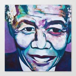 Legend: Nelson Mandela Canvas Print