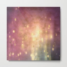 purplegold Metal Print