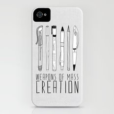 weapons of mass creation Slim Case iPhone (4, 4s)