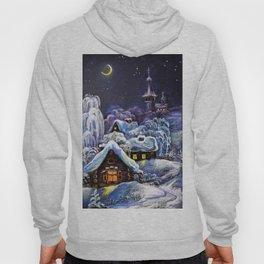 Winter in the village # 5 Hoody