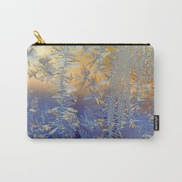 Winter Ice Carry-All Pouch
