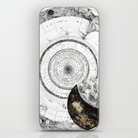 astrology iPhone & iPod Skins featuring astrology lapse by Carolina Arévalo