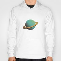 planet Hoodies featuring planet by Rafa  Miguel