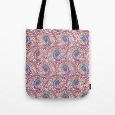 Peacock Swirl - Multi Tote Bag