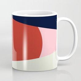 Circle Series - Red Circle No. 1 Coffee Mug