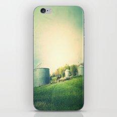 Farm land drive by iPhone & iPod Skin