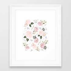 Floral Blossom - Muted Framed Art Print