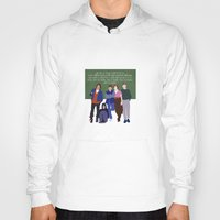 breakfast club Hoodies featuring The Breakfast Club by Christina