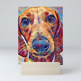 Dachshund 6 Mini Art Print