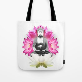 Blooming Buddha Tote Bag