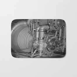 F-1 Engine for the Saturn V S-IC Bath Mat
