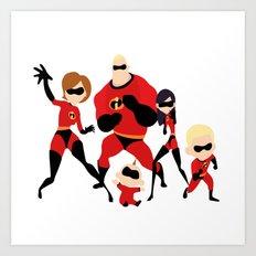 Superheroes Art Prints