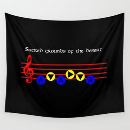 Sacred Grounds Of The Desert - Requiem Of Spirit (The Legend Of Zelda: Ocarina Of Time) Wall Tapestry