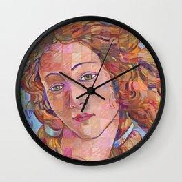 Variations On Botticelli's Venus – No. 1 Wall Clock