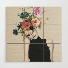 Floral beauty Wood Wall Art