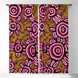 You Belong - Authentic Aboriginal Art Blackout Curtain