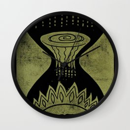 Healing (Black) Wall Clock
