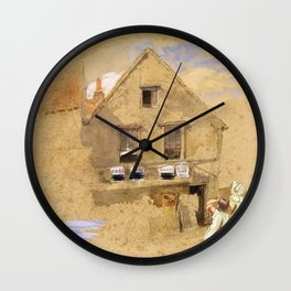 Little House on the Prairie – Country Girls  Wall Clock