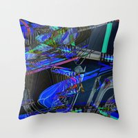 sneakers Throw Pillows featuring Sneakers by Aimee St Hill