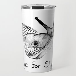 Hugs for Slugs Travel Mug