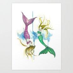 Zodiac - Pisces Art Print