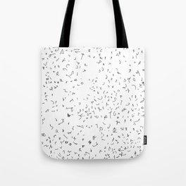 Linien - chaos - Symbole  (A7 B0117) Tote Bag