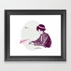 Lady Jane Framed Art Print