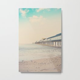 the sea ... Metal Print