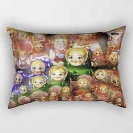 Matryoshka dolls Rectangular Pillow
