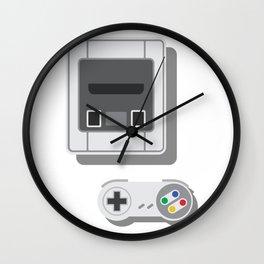 Super Nintendo Wall Clock