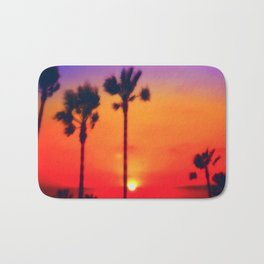 SunSet LA Bath Mat