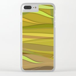 Desert Zephyr Clear iPhone Case