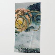 Cloud Mother Beach Towel