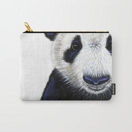 Panda Bear ' PANDA ' by Shirley MacArthur Carry-All Pouch