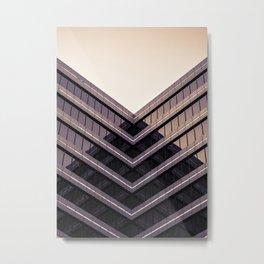Bending Houz Metal Print
