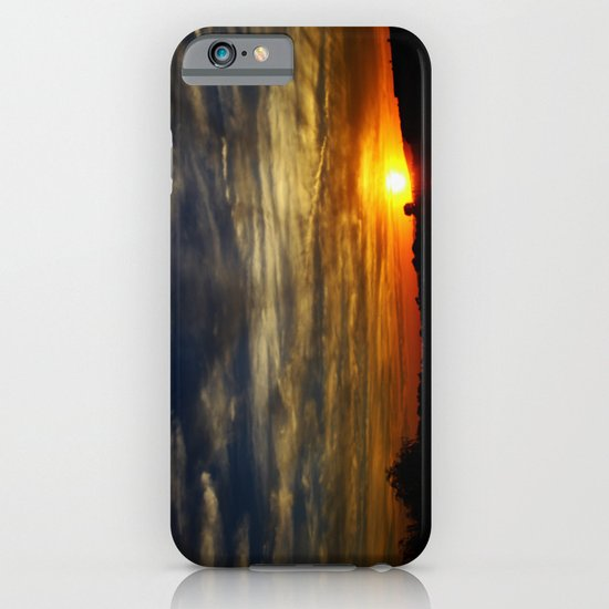 Colorful sunset iPhone & iPod Case