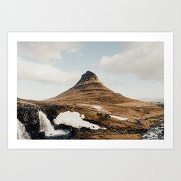 grandeur / grundarfjörður, iceland Art Print