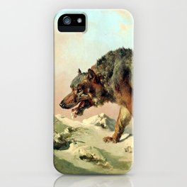 Sibirischer Wolf iPhone Case