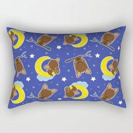 Bat Neck Gaiter Hanging Bats Neck Gator Rectangular Pillow
